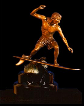Nalu surfer trophy